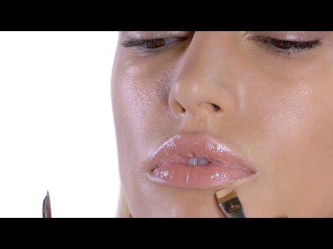 How To: Nude Glossy Lips I MAC Tutorial