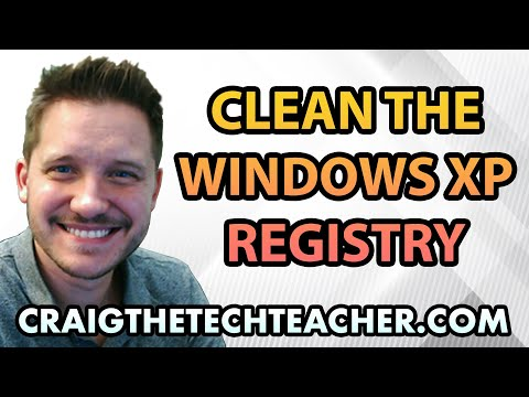 How To Clean The Windows XP Registry - Ep. 7