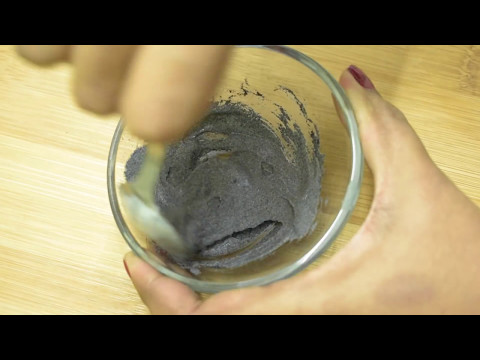 How To Make A Peel Off Charcoal Face Mask | Removes Everything and Get Smaller Pores