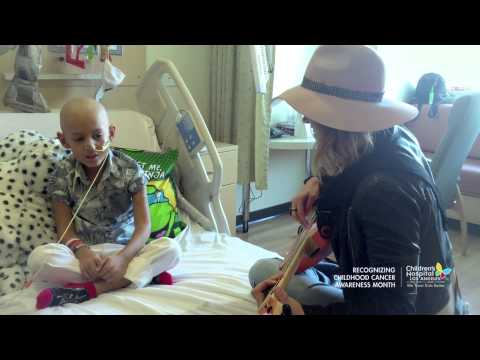 Cancer Patient Jeremiah Sings