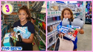 Anything YOU CAN CARRY IN 3 MINUTES at FIVE BELOW   SISTER FOREVER