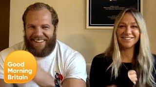 James Haskell & Chloe Madeley on Lockdown Vlogging & Raising Money for Cancer | Good Morning Britain
