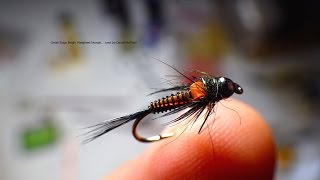 Tying the Edge Bright Weighted Nymph by Davie McPhail