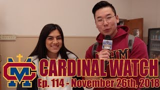 Cardinal Watch: ep. 114 - November 26th, 2018