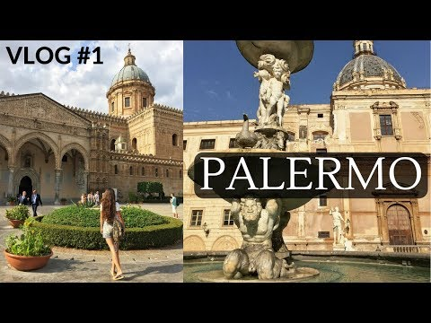 SICILY ON MOTORCYCLE, VLOG #1 PALERMO: Street Food, Theatres, Architecture | TRAVEL | Dilya London