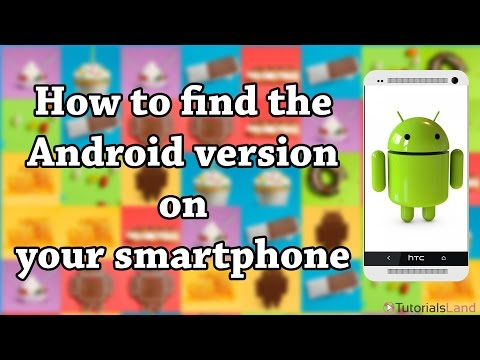 How to find the Android Version of an Android Phone