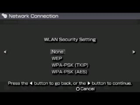 How to setup the PSP for Wi-Fi and connecting it to the web.