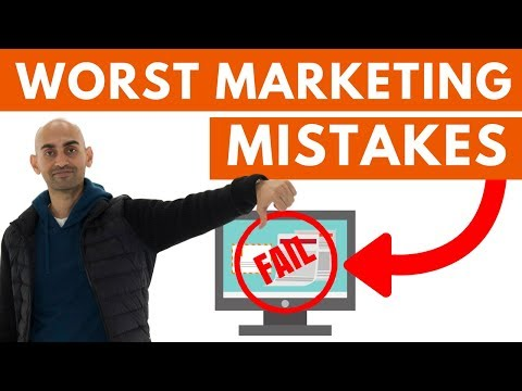3 Marketing Mistakes You MUST Avoid | Marketing Tips and Tricks for Startups