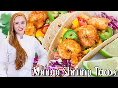 Shrimp Tacos with Mango Salsa