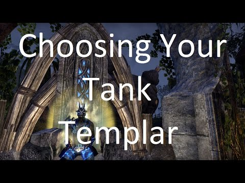 [ESO] Choosing Your Tank: Templar