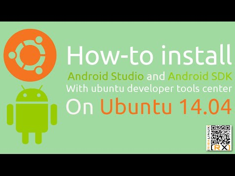 How-to install Android Studio and Android SDK With ubuntu developer tools center On Ubuntu 14.04