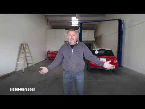 Diesel-Mercedes new professional shop for filming car repairs