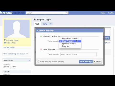 Facebook: How To Make Wall Post