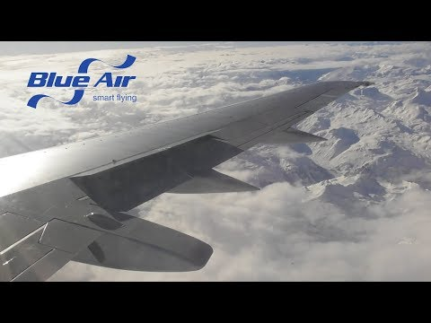 Blue Air Boeing 737-530 | London Luton to Turin Caselle *FULL FLIGHT*