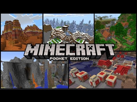 Minecraft PE 1.2 - Top 5 Best MCPE Seeds! (Best Seeds For MCPE 1.2!)