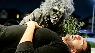 ZOMBIE PRANK BACKFIRED (Seriously Gone Wrong!!)