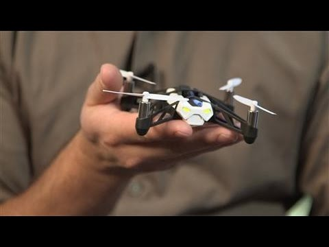 One-Minute Review: Parrot's Rolling Spider MiniDrone