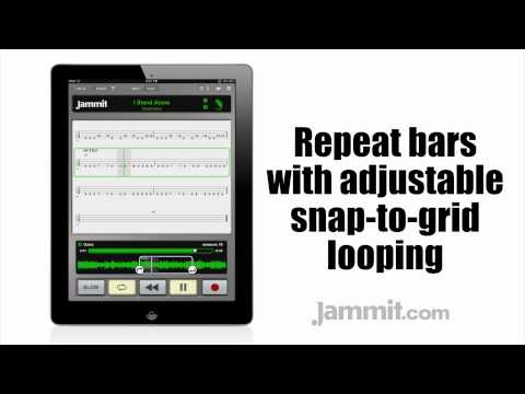 Jammit ipad iphone app Godsmack Video I Stand Alone