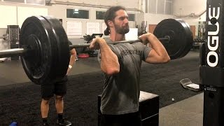 Seth Rollins gets in a final workout before WrestleMania