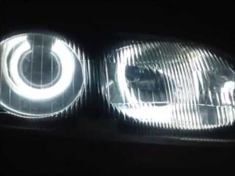 MX6 Blacked Out Jspec headlights with Angeleye Mod