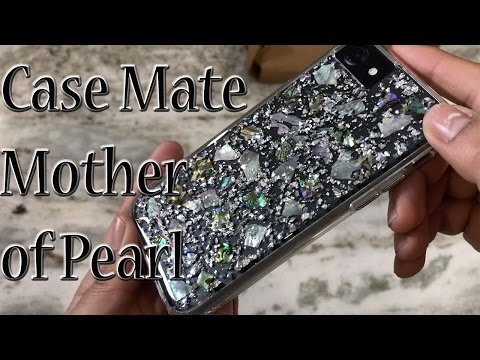 iPhone 7 Case Mate Karat Mother of Pearl clear case