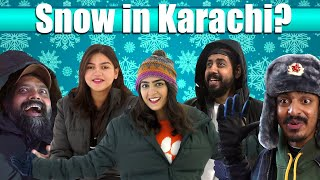 Snow In Karachi? | Bekaar Films | Winterland Vlog!
