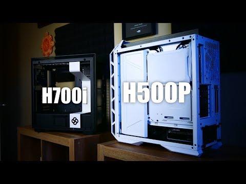 Cooler Master H500P Mesh vs. NZXT H700i