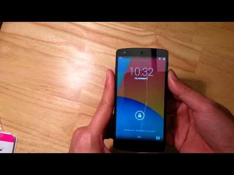 Nexus 5 test with a Verizon sim card