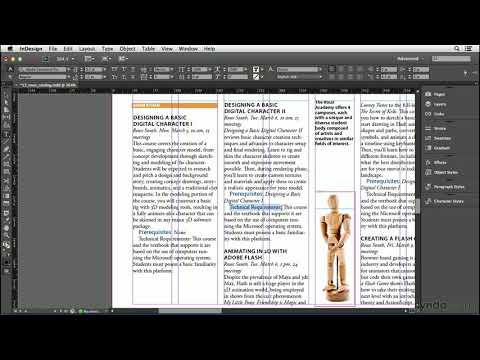 InDesign CC tutorial: Using Find/Change for text formatting | lynda.com