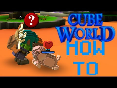╚Cube World: Name Your Pet, Rename Your Character, And Basic Commands (How To)╝