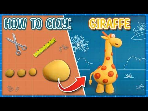How to make a clay Giraffe