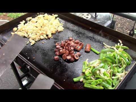 Polska Kielbasa Sausage and Potatoes/Blackstone Griddle Cooking
