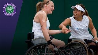Jordanne Whiley & Yui Kamiji retain Wimbledon 2017 ladies