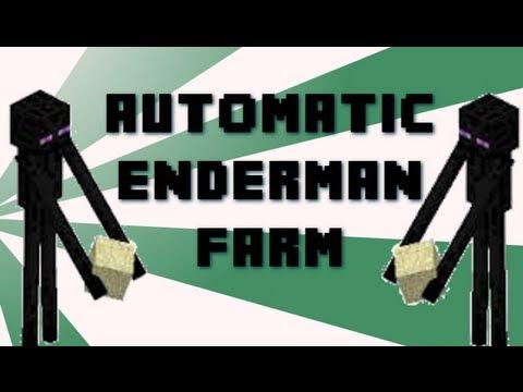 MINECRAFT FARMS 1.10 READY - Automatic Enderman Farm by MEATnPOTATO
