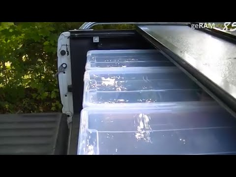BUILD YOUR OWN TRUCK BED STORAGE |BOXES IDEA INSTALL PICK UP DRAWERS ACCESS CUSTOM DECKED