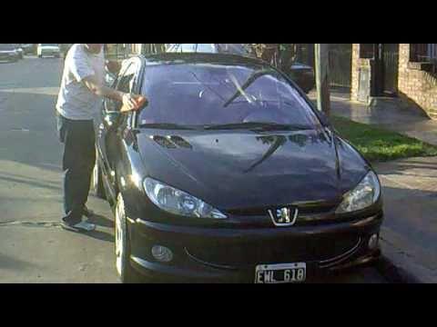 Mi Peugeot 206 RC despues de lavadita