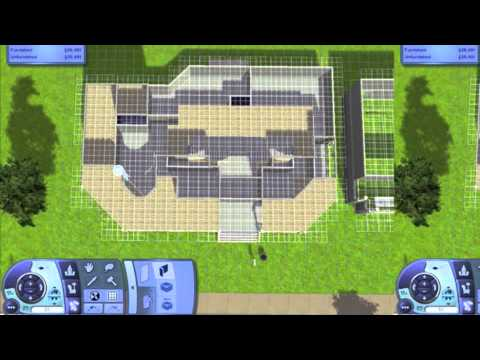Sims 3 building Victorian style Mini Mansion