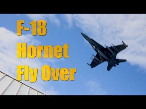 F-18 Hornet Fly Over - Blender VFX