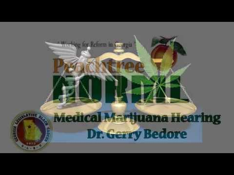 Dr. Gerry Bedore educates the Minority Cannabis Commission Nov. 10, 2015