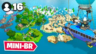 *NEW* 16 Player MINI BATTLE ROYALE Map In Fortnite Creative!