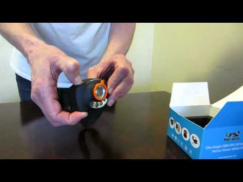 How to use your CREE LED Headlamp with Zoom & Motion Sensor