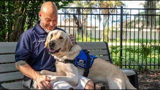 Today: Veterans Graduate With New Service Dogs