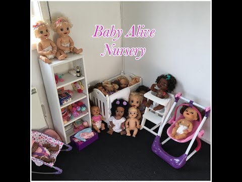 Setting Up My New Baby Alive Nursery!