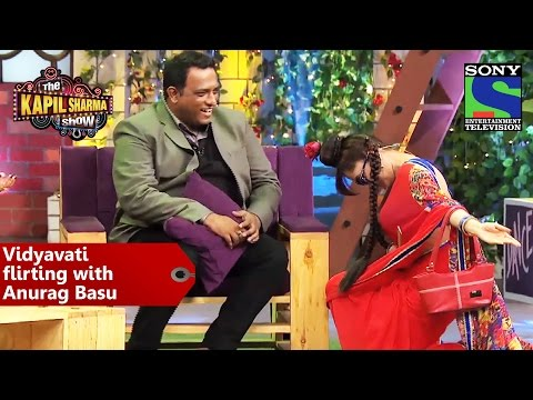 Vidyavati Flirting With Anurag Basu - The Kapil Sharma Show