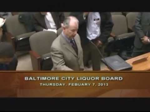 Board of Liquor License Commissioners for Baltimore City: Birdland Sports Bar & Grill