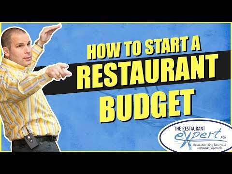 Restaurant Management Tip - How to Start a Restaurant Budget #restaurantsystems