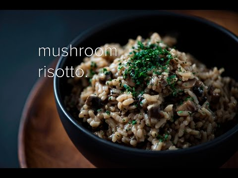 Mushroom Risotto in Instant Pot