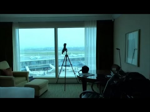 Fairmont Hotel Vancouver Airport Room Tour- A planespotting hotel!