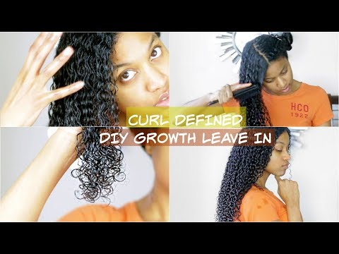 DIY Healthy Natural Hair Conditioner For Hair Growth, Moisture and Definition With Aloe Vera Gel