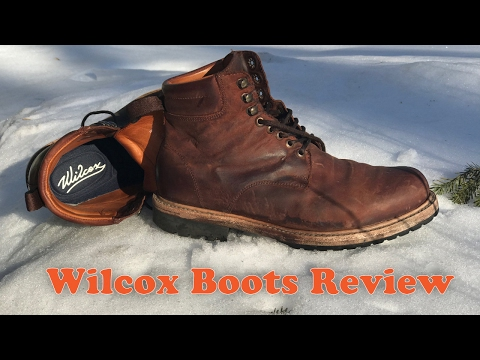 Wilcox Boots Review - Shiloh Rust Brown Leather Boots